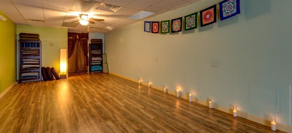 Blue Sky Yoga Studio View